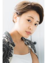 【Rire-リル銀座美容室-】グラマラスなひし形ショートボブ.11