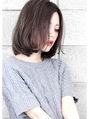 『毛束感 ×グレージュ』☆ひし形シルエット切りっぱなしボブ☆
