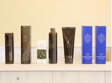 髪に含まれる18種類のアミノ酸配合★こだわりのヘアケアシステム