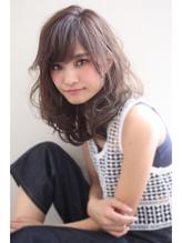 【Mariabyafloat】グレージュカラーの小顔カール♪30代40代◎ 流行.57