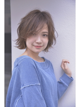 グレージュショート/大人/ラフパーマ【 BALLOON HAIR 表参道 】 .34
