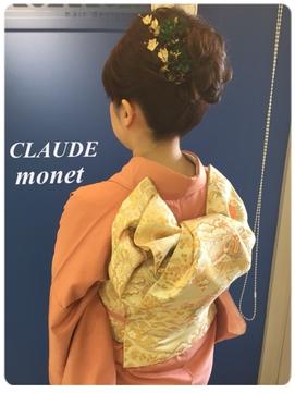 訪問着【CLAUDE-monet-Collection】