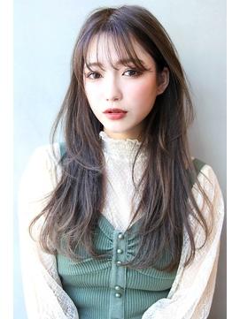 【Blanc/姫路】2WAYバング/3Dカラー/イルミナカラー/ロング