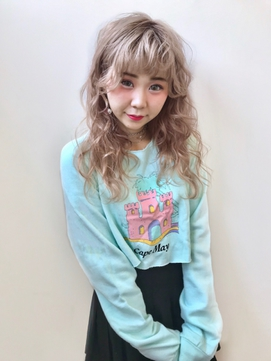 《aco's style》airy wave×edge style☆