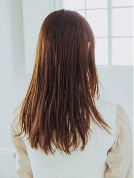 前髪♪ココアブラウン♪オリーブカラー