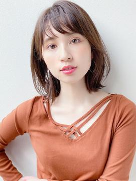 [K-two青山]大人女性に人気の小顔外ハネボブ![表参道/青山]