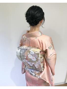【roomRoom yuki】和装アップ・成人式、結婚式、七五三など◎