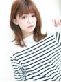 モテシルエット☆外はねくびれセミディ