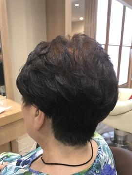 40代50代60代ボリュームウェーブパーマ【仙台D髪質改善サロン】