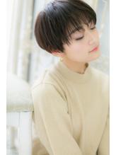 *mod's百道浜*…モード&クールな黒髪ベリーショートa.43