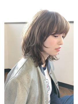 【アフロート中島直樹】梨花さん風マッシュウルフジェンダーレス