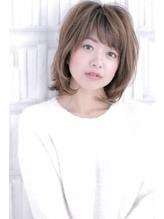 【HAIR DERA'S たかひと】大人可愛い ミディアムレイヤー ゆるフワ.53