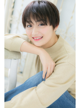 *CUORE新松戸*…モード&クールな黒髪ベリーショートa.24