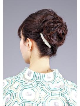 お着物に合うアップスタイル【結婚式】【着物】【和装】