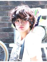 マッシュショートのランダムパーマ☆(0364273460) スウィート.39
