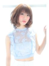 ふんわり・フェミニンボブ♪【横浜石川町店】 .45