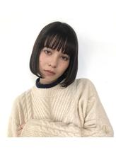 【robin】【代官山】王道ワンカールボブ【縮毛矯正】.1