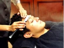 [銀座/新橋 高級理容室]大人男性の髪や頭皮の悩みも解決!スキャルプやオーガニックシャンプー等ケアも充実