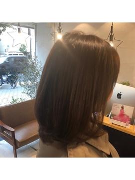 <LifAct style>60代 艶髪カラー