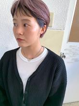 【Ticro_ueyama】フロントローライト/ショートヘア.11