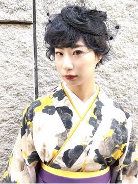 袴×ヘアアレンジ