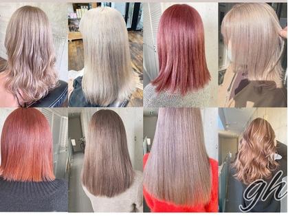 ガルボ ヘアー(garbo hair) image