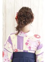 【池袋Neolive 】卒業式 袴着付け &ヘアセット ¥12960☆1 謝恩会.28