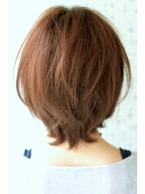 HAIR DERA'S】大人×可愛い 前下がりショートボブ♪♪ たかひと グラマラス.37