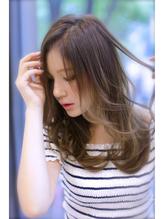 【FORTE 銀座】ゆれるカール♪外国人風な雰囲気のセミロング 女子力.44