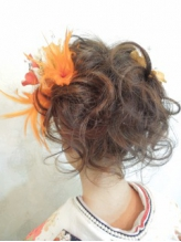 ソフトセットスタイル 盛り髪.33