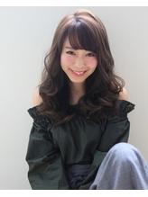 デジタルパーマ×フリンジカール とろみ ワンカール モード 小頭.17