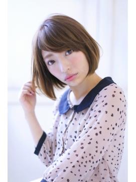 【FORTE】ワンカールボブ♪小顔カット&美髪ボブ