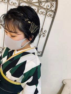 着物スタイル♪卒業式の特別スタイル☆