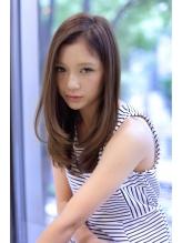 【FORTE銀座】上品なワンカールストレート♪ 女子力.40