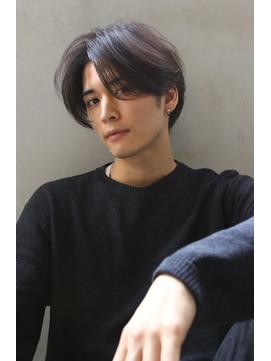 【Blanc/広島】韓国マッシュ/黒髪マッシュ/ センターパート
