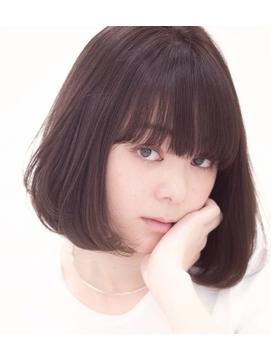 【Charumante銀座】Transparent hair shortbob 【透明な髪】