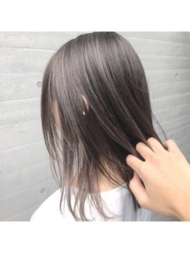 【ALIVE吉祥寺】シースルーカラーグレージュハイライトカラー