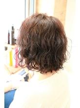 くせ毛を最大限いかした波ウェーブボブ.26