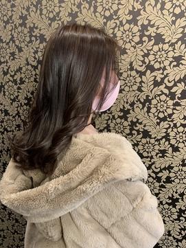 ピンクブラウン/ショコラブラウン [熊本/上通り/髪質改善]