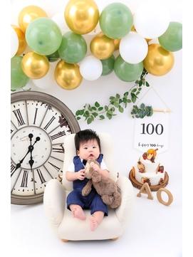 キッズ撮影会/ベビーフォト/100日記念撮影/birthdayフォト