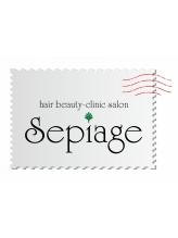 セピアージュ キャトル(hair beauty clinic salon Sepiage quatre)