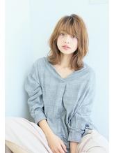 シースルーバングリラックスウエーブ【hair make be clover橋本 .20