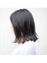 【vicca中原】ダークグレージュ×ミディアムボブ.15