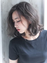 【 Liv 】NOT黒髪☆色素薄めのイルミナグレージュ♪ くせ毛風.37