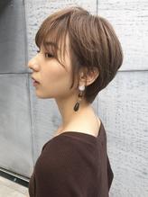 20代30代40代マニッシュショートネイビーカラー美髪フレンチボブ.47