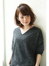 【Un ami】 2016 オトナかわいい・小顔ミディアム  松井 幸裕 OL.45