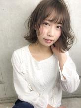 【LUNON  cheliy】無造作カールボブディ×ミルクティーアッシュ.1