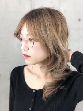 メガネコレクション ウルフレイヤー アッシュベージュ