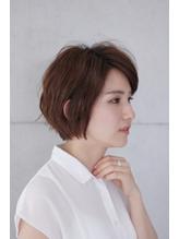 【&- hair/鈴木孝治】大人後頭部ふんわりショートボブ 西葛西.43
