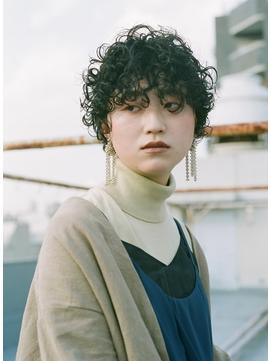 【utuwa】濡れ髪カーリーショート